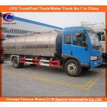 FAW 10cbm Milk Truck for 10ton Fresh Milk Tank Truck